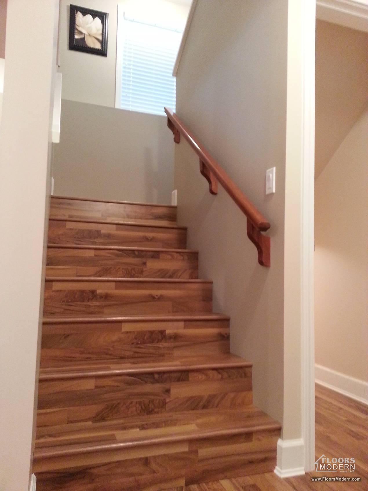 Laminate Flooring Project Including Staircase Surrey